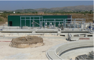 Water treatment plant in San Bonifacio